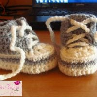 Newborn High Tops (converse) by Teri Heathcote
