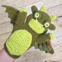 Dragon Hand Puppet Pattern