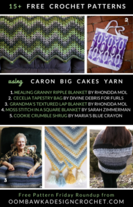 15 Free Caron Big Cakes Crochet Patterns