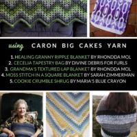15 Free Caron Big Cakes Crochet Patterns