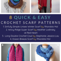 8-Quick-and-Easy-Crochet-Scarf-Patterns.-Free-Pattern-Roundup-Oombawka-Design-Crochet