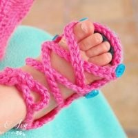 Baby Gladiator Crochet Sandal Pattern