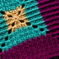 Featured at Free Pattern Friday Butterfly Vibe Square Pattern