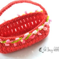 Easter Basket Featured at Free Pattern Friday