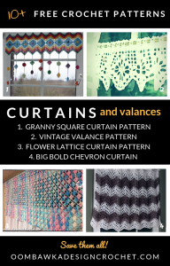 Free Curtain and Valance Crochet Patterns
