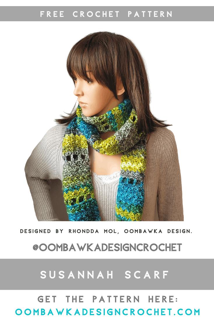 Susannah Scarf – Free Crochet Pattern – March CAL