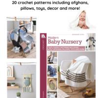Modern Baby Nursery Crochet Pattern eBook Giveaway ends March 14 2020