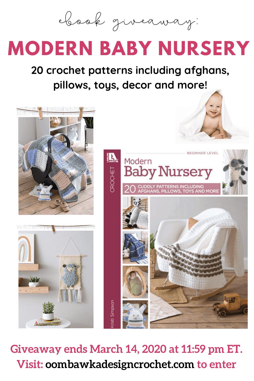 Modern Baby Nursery Crochet Patterns