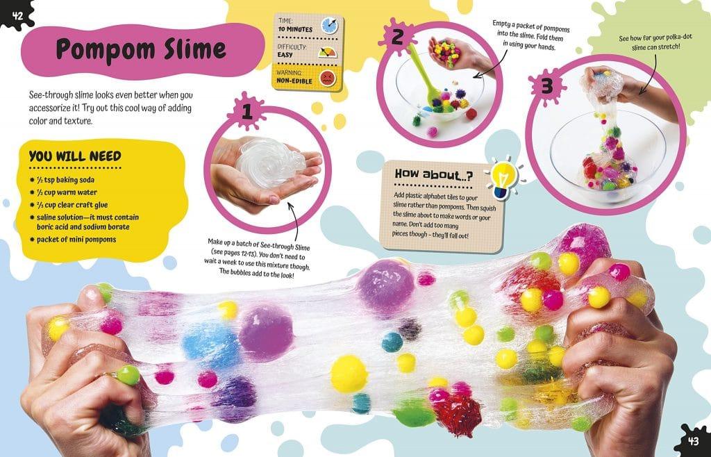Pompom Slime DK Canada - Book Review Oombawka Design