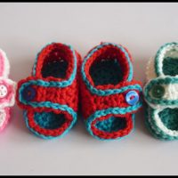 Simple Baby Sandals Pattern