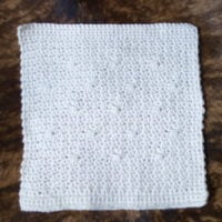 Sugar Sand Crochet Afghan Square Pattern from SPC featured at Free Pattern Friday with ODC