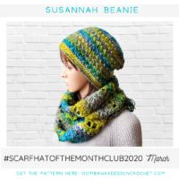 Susannah Beanie Pattern Oombawka Design Crochet 2020