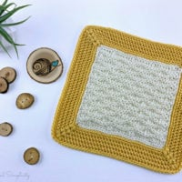 Triple Textures 12 Afghan Square Featured at Free Pattern Friday with ODC