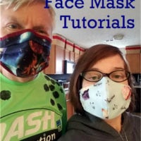 8 Reusable Cloth Face Mask Tutorials