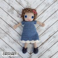 Amigurumi Sally Doll Crochet Pattern ODC 2020