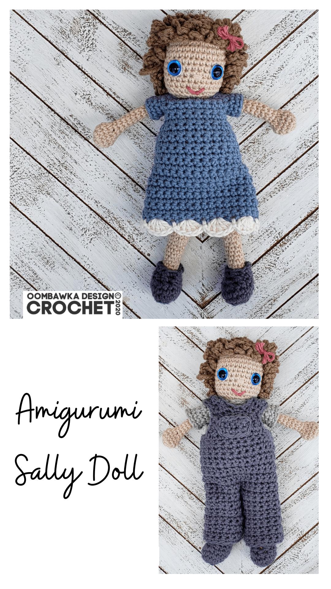 Amigurumi Sally Crochet Doll Free Pattern