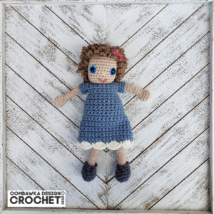 Molly Doll crochet pattern - Amigurumi Today | 300x300