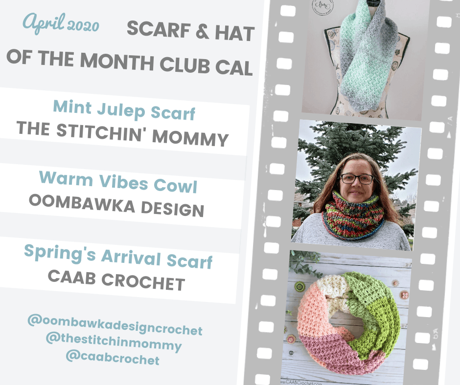 April Scarf of the Month Club CAL 2020