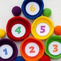 Ball Toss Game Pattern - Featured at Free Pattern Friday - Oombawka Design