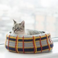 Cat Bed LBY Free Crochet Pattern Friday