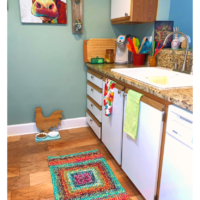 Country Bright Rug Pattern - Featured at Free Pattern Friday - Oombawka Design