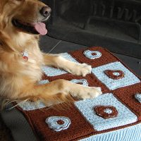 Dog or Cat Bed Pattern Free Crochet Pattern Friday