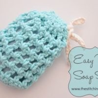 Easy Mesh Soap Saver by Amy Ramnarine