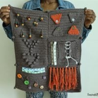 Fidget-Sensory-Blanket-for-Alzheimers - Loopingly Made by Rose - Featured FCPF at ODC