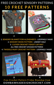 Free Sensory Crochet Patterns for Dementia Patients
