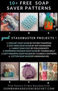 Free Soap Saver Crochet Patterns Stashbuster Roundup