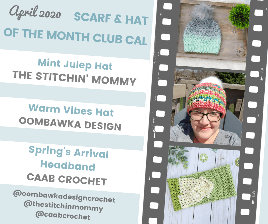 Hat of the Month Club April 2020 CAL