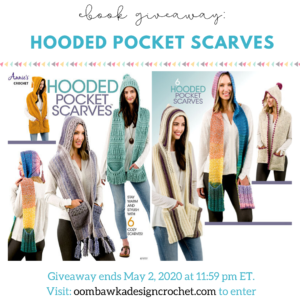 Hooded Pocket Scarves eBook Giveaway Ends May 2 2020 1159 pm ET 2