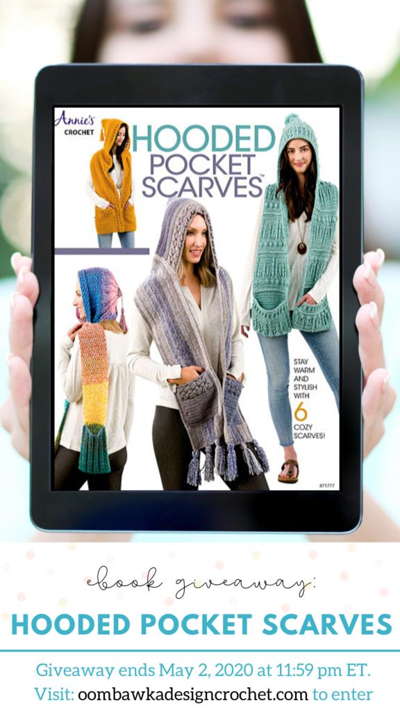 Hooded Pocket Scarves eBook Giveaway Ends May 2 2020 1159 pm ET