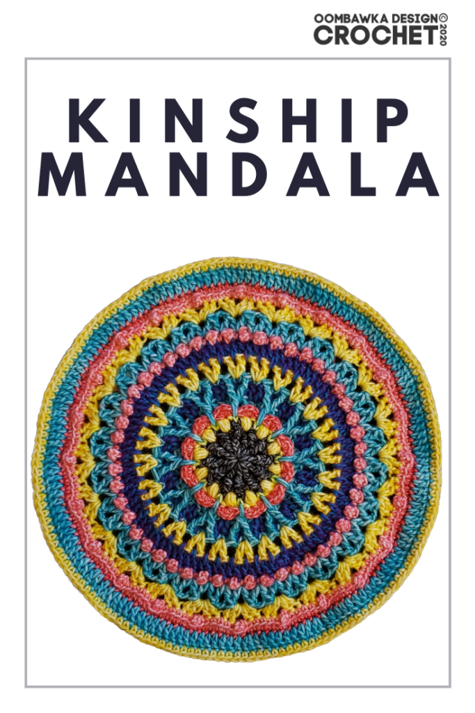 Kinship Mandala Crochet Pattern Oombawka Design Crochet