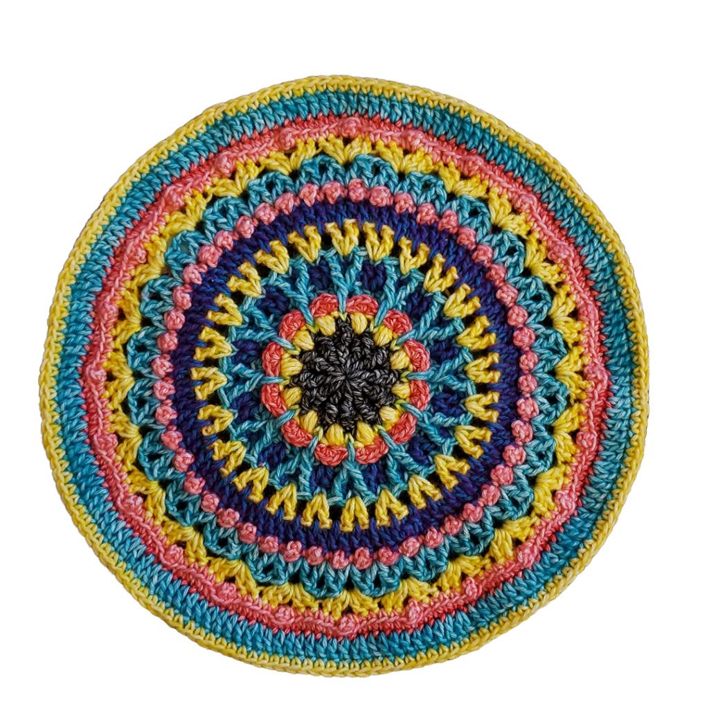 Kinship Mandala Pattern by Rhondda Mol of Oombawka Design Crochet