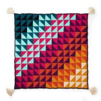 Red Heart Prismatic Chromatic Crochet Blanket Pattern - Featured - FPF - Oombawka Design