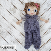 Sally Doll Crochet Pattern Pants