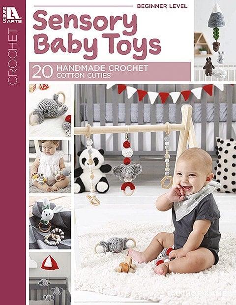 Sensory Baby Toys - 20 Handmade Crochet Cotton Cuties