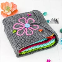 Sensory Book - Winding Road Crochet - Featured FCPF at ODC
