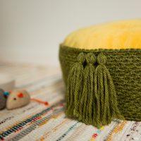 Tasseled Cat Bed Pattern Free Crochet Pattern Friday