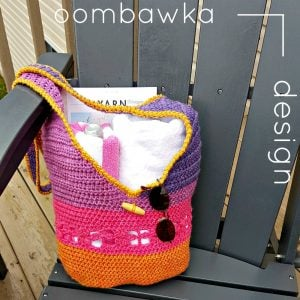 Tropical Paradise Crossbody Bag – Free Pattern