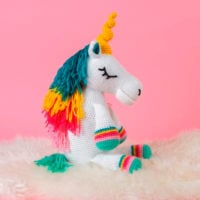 Unicorn Crochet Pattern - Free Pattern Friday - Oombawka Design