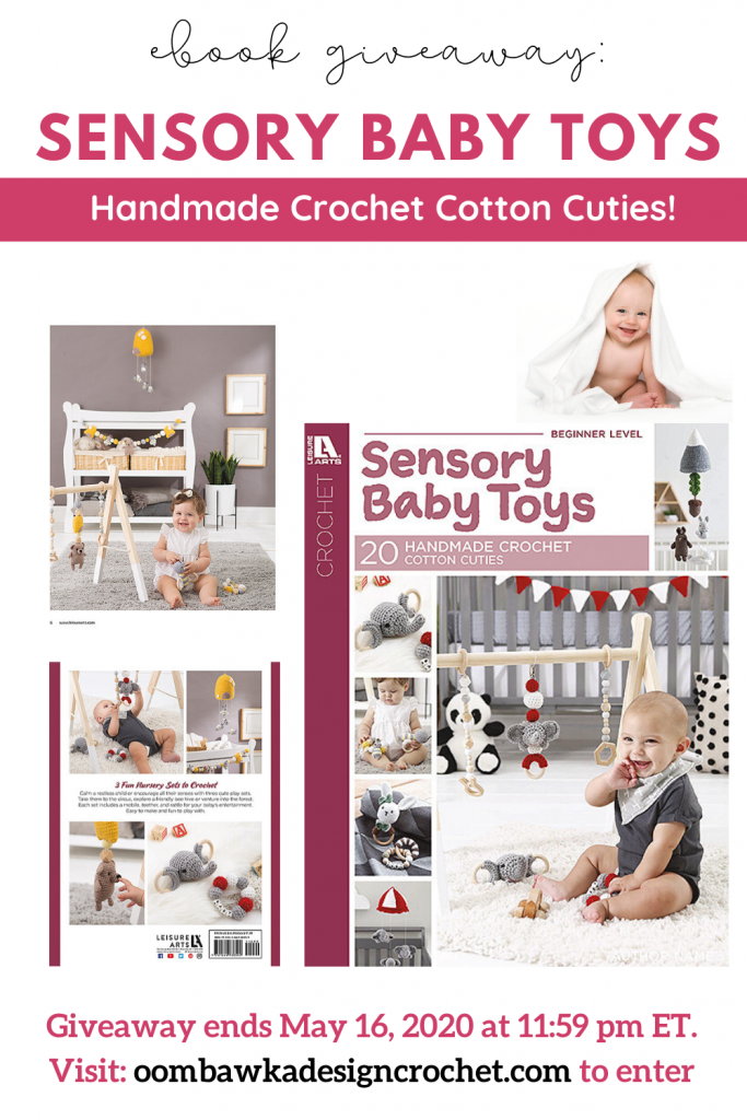 1 Sensory Baby Toys eBook Giveaway ends May 16 2020 1159 pm ET