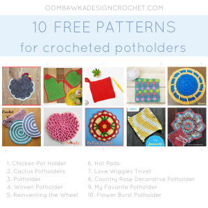 10 Crochet Potholder Patterns