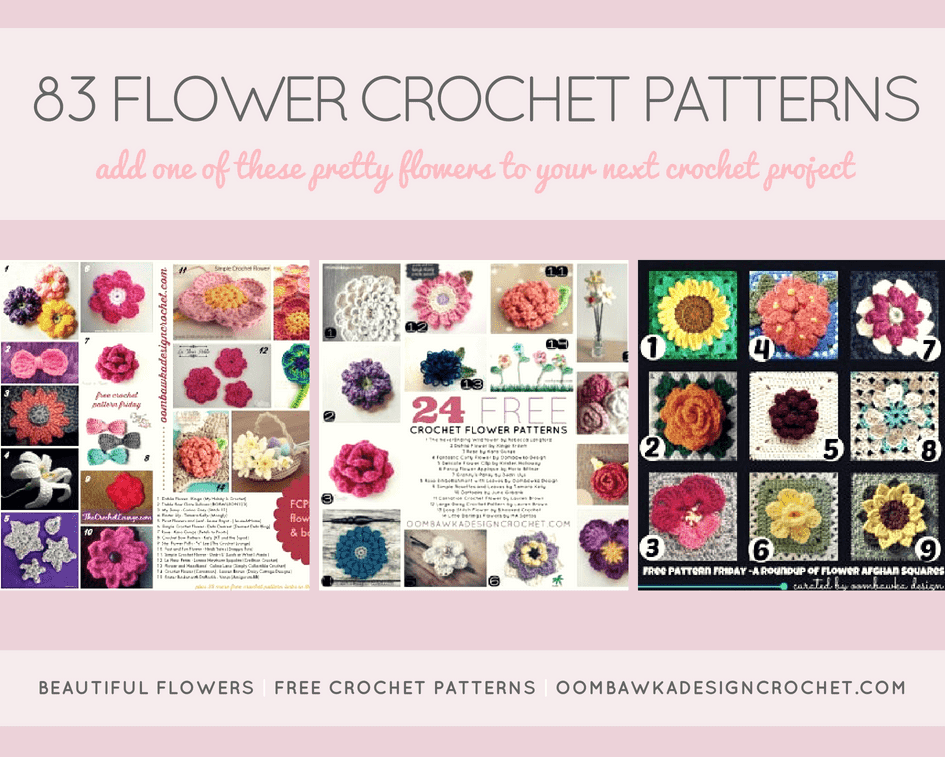 Choose Your Favorite From These 83 Flower Crochet Patterns