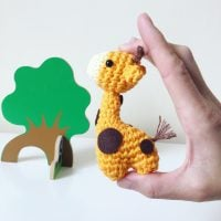 A Very Little Giraffe by Annaboo