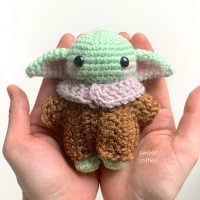 Baby Yoda Inspired Amigurumi Doll by Sweet Softies