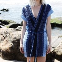 Arverne Beach Robe Pattern by Alexandra Tavel