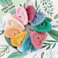 Crochet Hearts Pattern | Annemarie's Haakblog