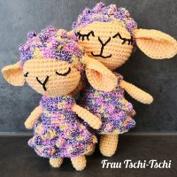 Cuddle Crochet Sheep Free Crochet Pattern Featured at Wednesday Link Party 346